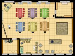 bilik seni - bilik seni II made with Floorplanner
