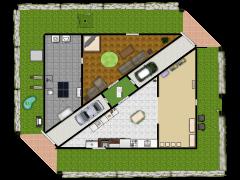 floor 1 - First design made with Floorplanner