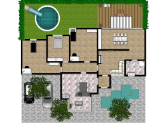 Nieuwe plattegrond - Eerste ontwerp made with Floorplanner