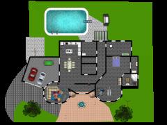 Nuestra Casa - Primer diseño made with Floorplanner