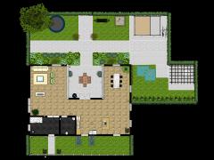 Appartement - Eerste ontwerp made with Floorplanner
