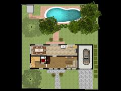 New floorplan - First design made with Floorplanner