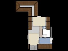 Nederven 14, Zundert  - Eerste ontwerp made with Floorplanner