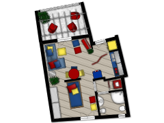 Nuova planimetria - digita un nome made with Floorplanner