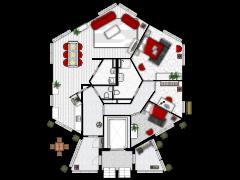 Midscheeps 39 - Eerste ontwerp made with Floorplanner