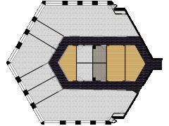Citylights - 3ème étage Blanc made with Floorplanner
