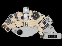 Lookersdijk 12 te Deventer (Vrielink Makelaars) - Eerste ontwerp made with Floorplanner