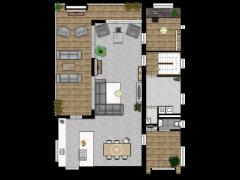 Hoofdmanweg 7, Etten-Leur - Variant - bgg made with Floorplanner