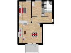 Inviso #254279 / FloorPlan #57297 - Inviso #254279 / FloorPlan #57297 made with Floorplanner