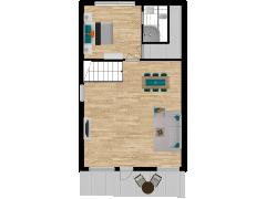 Inviso #254355 / FloorPlan #57298 - Inviso #254355 / FloorPlan #57298 made with Floorplanner