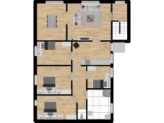 Inviso #253724 / FloorPlan #57308 - Inviso #253724 / FloorPlan #57308 made with Floorplanner
