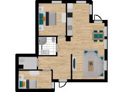 Inviso #253561 / FloorPlan #57313 - Inviso #253561 / FloorPlan #57313 made with Floorplanner