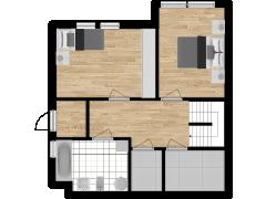 Inviso #254019 / FloorPlan #57333 - Inviso #254019 / FloorPlan #57333 made with Floorplanner