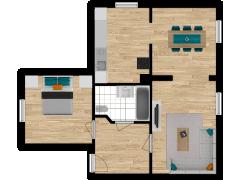 Inviso #254262 / FloorPlan #57302 - Inviso #254262 / FloorPlan #57302 made with Floorplanner