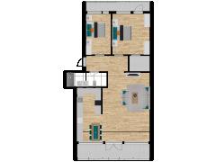 Inviso #253544 / FloorPlan #57311 - Inviso #253544 / FloorPlan #57311 made with Floorplanner