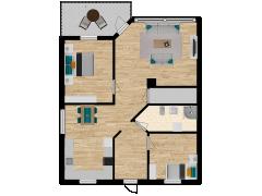 Inviso #252806 / FloorPlan #57354 - Inviso #252806 / FloorPlan #57354 made with Floorplanner