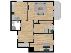 Inviso #254400 / FloorPlan #57339 - Inviso #254400 / FloorPlan #57339 made with Floorplanner