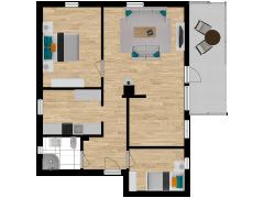 Inviso #254107 / FloorPlan #57351 - Inviso #254107 / FloorPlan #57351 made with Floorplanner