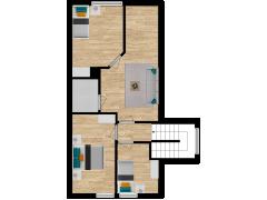 Inviso #254078 / FloorPlan #57355 - Inviso #254078 / FloorPlan #57355 made with Floorplanner