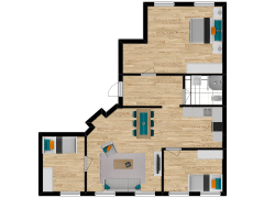 Inviso #253701 / FloorPlan #57341 - Inviso #253701 / FloorPlan #57341 made with Floorplanner