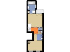 4012 - OvdM - Potgieterstraat 51-I - Amsterdam - 4012 - OvdM - Potgieterstraat 51-I - Amsterdam made with Floorplanner