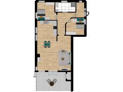 Inviso #253636 / FloorPlan #57554 - Inviso #253636 / FloorPlan #57554 made with Floorplanner
