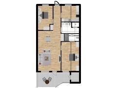 Inviso #254466 / FloorPlan #57558 - Inviso #254466 / FloorPlan #57558 made with Floorplanner