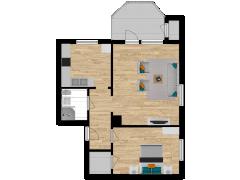 Inviso #254179 / FloorPlan #57525 - Inviso #254179 / FloorPlan #57525 made with Floorplanner
