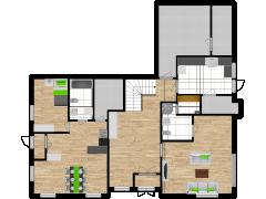Inviso #253637 / FloorPlan #57542 - Inviso #253637 / FloorPlan #57542 made with Floorplanner