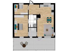 Inviso #254417 / FloorPlan #57567 - Inviso #254417 / FloorPlan #57567 made with Floorplanner