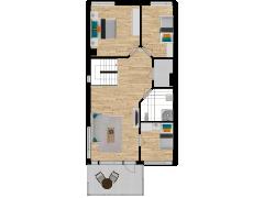 Inviso #254072 / FloorPlan #57573 - Inviso #254072 / FloorPlan #57573 made with Floorplanner
