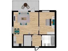 Inviso #254489 / FloorPlan #57547 - Inviso #254489 / FloorPlan #57547 made with Floorplanner