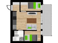 Inviso #254746 / FloorPlan #57532 - Inviso #254746 / FloorPlan #57532 made with Floorplanner