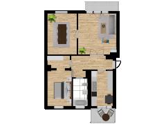 Inviso #253248 / FloorPlan #57546 - Inviso #253248 / FloorPlan #57546 made with Floorplanner
