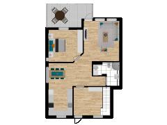 Inviso #253460 / FloorPlan #57555 - Inviso #253460 / FloorPlan #57555 made with Floorplanner