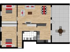 Inviso #254342 / FloorPlan #57575 - Inviso #254342 / FloorPlan #57575 made with Floorplanner