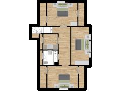 Inviso #254558 / FloorPlan #57553 - Inviso #254558 / FloorPlan #57553 made with Floorplanner