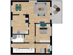 Inviso #254458 / FloorPlan #57577 - Inviso #254458 / FloorPlan #57577 made with Floorplanner