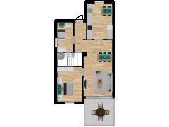Inviso #254642 / FloorPlan #57570 - Inviso #254642 / FloorPlan #57570 made with Floorplanner
