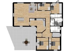 Inviso #252676 / FloorPlan #57719 - Inviso #252676 / FloorPlan #57719 made with Floorplanner