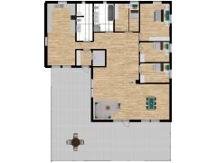 Inviso #252239 / FloorPlan #57749 - Inviso #252239 / FloorPlan #57749 made with Floorplanner