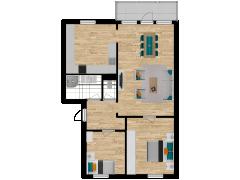 Inviso #254805 / FloorPlan #57761 - Inviso #254805 / FloorPlan #57761 made with Floorplanner