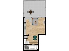 Inviso #254211 / FloorPlan #57742 - Inviso #254211 / FloorPlan #57742 made with Floorplanner