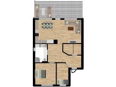 Inviso #254823 / FloorPlan #57759 - Inviso #254823 / FloorPlan #57759 made with Floorplanner