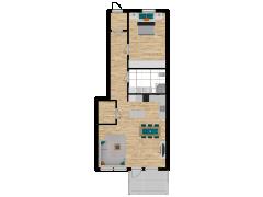 Inviso #254137 / FloorPlan #57746 - Inviso #254137 / FloorPlan #57746 made with Floorplanner