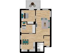 Inviso #254640 / FloorPlan #57740 - Inviso #254640 / FloorPlan #57740 made with Floorplanner
