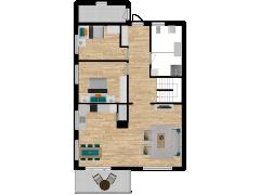 Inviso #253699 / FloorPlan #57743 - Inviso #253699 / FloorPlan #57743 made with Floorplanner