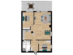 Inviso #254208 / FloorPlan #57747 - Inviso #254208 / FloorPlan #57747 made with Floorplanner