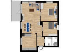 Inviso #254931 / FloorPlan #57757 - Inviso #254931 / FloorPlan #57757 made with Floorplanner
