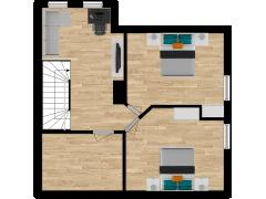 Inviso #254609 / FloorPlan #57744 - Inviso #254609 / FloorPlan #57744 made with Floorplanner